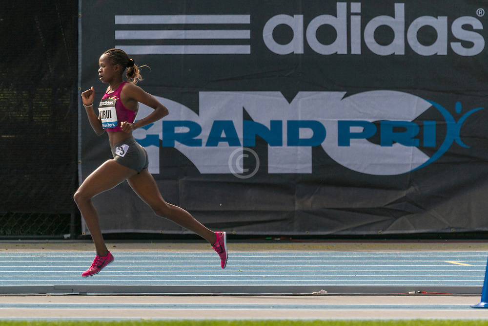 women's 3000 meter steeplechase, Purity Kurui, adidas Grand Prix Diamond League track and field meet