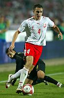 Fotball<br /> EM-kvalifisering<br /> Polen v Portugal<br /> 11.10.2006<br /> Foto: imago/Digitalsport<br /> NORWAY ONLY<br /> <br /> Pawel Golanski (Polen)