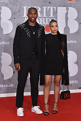 February 20, 2019 - London, United Kingdom of Great Britain and Northern Ireland - Daniel Sturridge arriving at The BRIT Awards 2019 at The O2 Arena on February 20, 2019 in London, England  (Credit Image: © Famous/Ace Pictures via ZUMA Press)