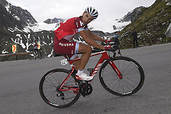 June 16, 2017 - Solden, Suisse - SOLDEN, AUSTRIA - JUNE 16 : SPILAK Simon of Team Katusha - Alpecin during stage 7 of the Tour de Suisse cycling race, a stage of 160 kms between Zernez and Solden on June 16, 2017 in Solden, Austria, 16/06/2017 (Credit Image: © Panoramic via ZUMA Press)