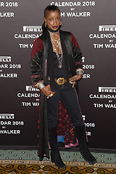 Zoe Bedeaux attends the photocell for The Pirelli 2018 Calendar by Tim Walker Launch Press Conference at the Pierre Hotel in New York, NY, on November 10, 2017. (Photo by Anthony Behar/Sipa USA)