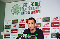 12/05/16  <br /> LENNOXTOWN<br /> Celtic manager Ronny Deila looks forward to his side's upcoming match against Motherwell