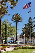 Orange Plaza Historic District in Orange California