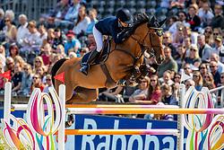 Baryard-Johnsson Malin, SWE, H&M Indiana<br /> European Championship Jumping<br /> Rotterdam 2019<br /> © Hippo Foto - Dirk Caremans<br /> Baryard-Johnsson Malin, SWE, H&M Indiana