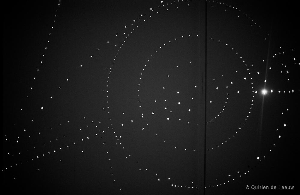 Langenfelder Lichtwand. Artwork by: Otto Piene