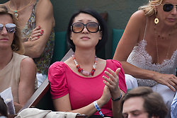 Fleur Pellerin in stand during French Tennis Open at Roland-Garros arena on June 10, 2018 in Paris, France. Photo by Nasser Berzane/ABACAPRESS.COM