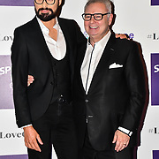 Eamonn Holmes and Rylan Clark attend Spectacle Wearer of the Year 2018 at 8 Northumberland avenue, on 23 October 2018, London, UK.