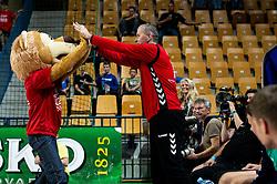 during handball event named Rokometna simfonija organised as a game between Zorman's team and Zvizej's team when Uros Zorman and Luka Zvizej officially retire from their professional handball career, on October 24, 2019 in Arena Zlatorog, Celje, Slovenia. Photo by Vid Ponikvar / Sportida
