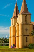 St. Pierre Baptist Church, Hnathalo, Lifou (island), Loyalty Islands, New Caledonia