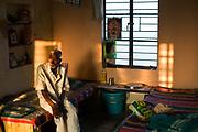 Manjani, 75 inside his room at the Tamaraikulum Elders's Village