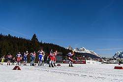 February 24, 2019 - Seefeld In Tirol, AUSTRIA - 190224 Emil Iversen of Norway competes in men's team sprint semi final during the FIS Nordic World Ski Championships on February 24, 2019 in Seefeld in Tirol..Photo: Joel Marklund / BILDBYRN / kod JM / 87889 (Credit Image: © Joel Marklund/Bildbyran via ZUMA Press)