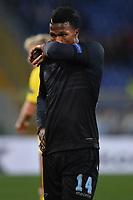 Keita Balde Diao Lazio Delusione Dejection <br /> Roma 17-03-2016 Stadio Olimpico Football Europa League Round of 16 second leg 2015/2016 Lazio - Sparta Praha. Foto Andrea Staccioli / Insidefoto