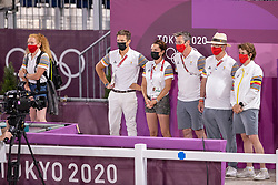 Team Bel, Laeremans Wendy, Weinberg Peter<br /> Olympic Games Tokyo 2021<br /> © Hippo Foto - Dirk Caremans<br /> 04/08/2021