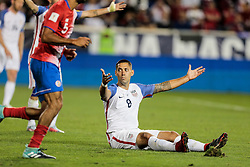 September 1, 2017 - Harrison, NJ, USA - Harrison, N.J. - Friday September 01, 2017:   Clint Dempse during a 2017 FIFA World Cup Qualifying (WCQ) round match between the men's national teams of the United States (USA) and Costa Rica (CRC) at Red Bull Arena. (Credit Image: © John Dorton/ISIPhotos via ZUMA Wire)