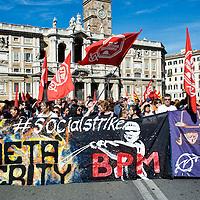Manifestazione contro il governo dell'austerità