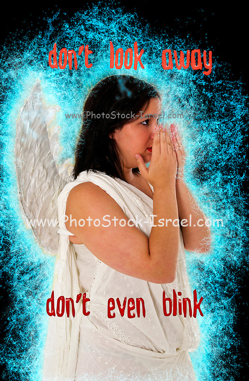 Famous humourous quotes series: Don't look away. Don't even blink (Doctor Who)