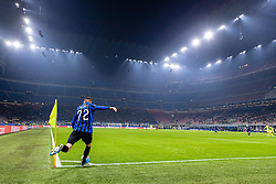 November 26, 2019, Milano, Italy: josip ilicic (atalanta)during Tournament round - Atalanta vs Dinamo Zagreb , Soccer Champions League Men Championship in Milano, Italy, November 26 2019 - LPS/Francesco Scaccianoce (Credit Image: © Francesco Scaccianoce/LPS via ZUMA Wire)
