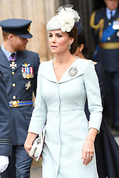 Catherine, Duchess of Cambridge during the RAF Centenary at Buckingham Palace, London. Photo credit should read: Doug Peters/EMPICS