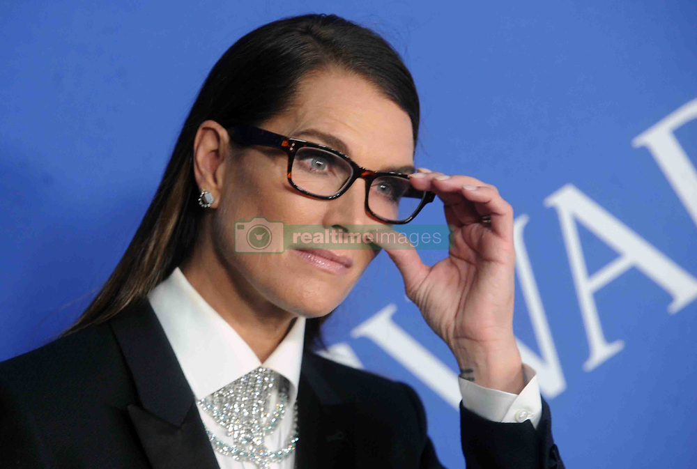 Brooke Shields at the 2018 CFDA Awards at the Brooklyn Museum in New York City, NY, USA on June 4, 2018. Photo by Dennis Van Tine/ABACAPRESS.COM