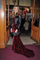 NATASHA McELHONE at the opening night of Totem by Cirque du Soleil held at The Royal Albert Hall, London on 5th January 2011.