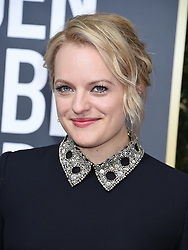 Gaten Matarazzo at the 75th Annual Golden Globe Awards held at the Beverly Hilton Hotel on January 7, 2018 in Beverly Hills, CA ©Tammie Arroyo-GG18/AFF-USA.com. 07 Jan 2018 Pictured: Elisabeth Moss. Photo credit: MEGA TheMegaAgency.com +1 888 505 6342