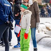 NLD/Biddinghuizen/20160306 - Hollandse 100 Lymphe & Co 2016, Pr. Marilene en dochter Felicia