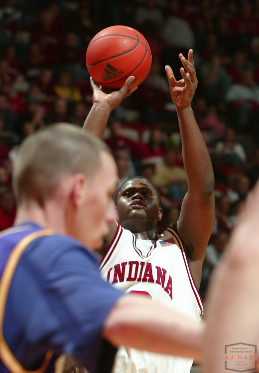 15 December 2007: Indiana forward DeAndre Thomas (2) as the Indiana Hoosiers played Western Carolina in a college basketball game in Bloomington, Ind.