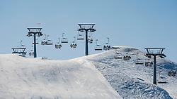 Ski center Vogel during Europa Cup Slopestyle Vogel 2014, on March 16, 2014 at Vogel, Slovenia. Photo by Urban Urbanc / Sportida.com