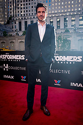 Santiago Cabrera attends the US Premier of 'Transformers: The Last Knight' on the Chicago River in front of the Civic Opera House on Tuesday June 20, 2017 in Chicago, IL. Photo: Christopher Dilts / Sipa USA *** Please Use Credit from Credit Field ***