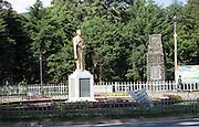 Statue of Buddhist leader Anagarika Dharmapala, Nuwara Eliya, Sri Lanka, Asia