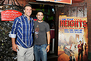 In the Heights national tour cast party in Tempe Arizona with Kurt Warner and Lin Manuel Miranda