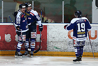 Ishockey , Get - ligaen ,<br /> 21.11.2013 <br /> Hamar OL-Amfi<br /> Storhamar  Dragons  v Sparta  1-3<br /> Foto:Dagfinn Limoseth  -  Digitalsport<br /> Logan Stephenson og Shay Stephenson , Sparta