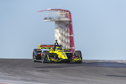 February 12, 2019 - Austin, Texas, U.S. - SEBASTIEN BOURDAIS (18) of France goes through the turns during practice for the IndyCar Spring Test at Circuit Of The Americas in Austin, Texas. (Credit Image: © Walter G Arce Sr Asp Inc/ASP)