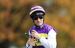 Jockey Dougie Costello at Newmarket Racecourse