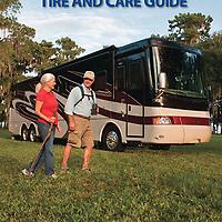 Goodyear, RV tire brochure cover.