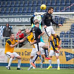 Falkirk's Luke Leahy. Falkirk 3 v 1 East Fife, Petrofac Training Cup played 25th July 2015 at The Falkirk Stadium.