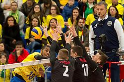 July 4, 2017 - Ricardo Lucarelli durante Brasil e Canadá na partida de estreia da fase final da Liga Mundial de Vôlei, na Arena da Baixada em Curitiba. (Credit Image: © Reinaldo Reginato/Fotoarena via ZUMA Press)