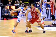 DESCRIZIONE : Milano Lega A 2014-15  EA7 Emporio Armani Milano vs Acqua Vitasnella Cantù<br /> GIOCATORE : Stefano Gentile<br /> CATEGORIA : Palleggio<br /> SQUADRA : Acqua Vitasnella Cantù<br /> EVENTO : Campionato Lega A 2014-2015<br /> GARA : EA7 Emporio Armani Milano vs Acqua Vitasnella Cantù<br /> DATA : 16/11/2014<br /> SPORT : Pallacanestro <br /> AUTORE : Agenzia Ciamillo-Castoria/I.Mancini<br /> Galleria : Lega Basket A 2014-2015  <br /> Fotonotizia : Milano Lega A 2014-2015 Pallacanestro : EA7 Emporio Armani Milano vs Acqua Vitasnella Cantù<br /> Predefinita :