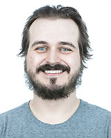 Portraits of Jason Pundyk prior to his first haircut after the re-opening of barbers during COVID-19 virus in Hamilton, ON on Saturday, June 27, 2020. All images were taken while following social distancing protocols. Michael P. Hall/michaelphall.ca