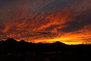 Sunset near Tombstone Arizona, USA