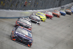 October 7, 2018 - Dover, Delaware, United States of America - Denny Hamlin (11) battles for position during the Gander Outdoors 400 at Dover International Speedway in Dover, Delaware. (Credit Image: © Justin R. Noe Asp Inc/ASP via ZUMA Wire)