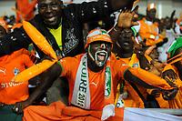 fotball<br /> Fans Cote d Ivoire - Coupe d Afrique des Nations - DemiFinale - 08.02.2012 tilskuere<br /> Norway only