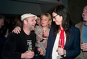 GAVIN TURK; LOUISA BUCK; FIONA BANNER, Art Plus Music Party 2010. Whitechapel art Gallery.  To raise money for the gallery';s education and community programme. 22 April 2010.
