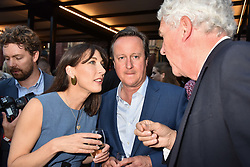 David Cameron and Samantha Cameron at the Victoria & Albert Museum's Summer Party in partnership with Harrods at The V&A Museum, Exhibition Road, London, England. 20 June 2018.
