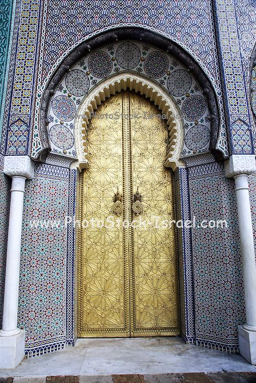 Royal Palace, Fes, Morocco close up