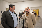 JERRY HUGHES; GAVIN TURK;  ( AB FINE ART FOUNDRY LTD. ) Gavin Turk: Who What When Where How & Why. Newport St. Gallery. London. 22 November 2016