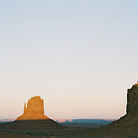 1. When was this photo taken?<br /> <br /> 2014<br /> <br /> 2. Where was this photo taken?<br /> <br /> Monument valley Arizona<br /> <br /> 3. Who took this photo?<br /> <br /> Rikki Reich<br /> <br /> 4. What are we looking at here?<br /> <br /> The desert at dusk.<br /> <br /> 5. How does this old photo make you feel?<br /> <br /> At peace.<br /> I have always been a bit of a lone wolf.<br /> I feel in my element in the desert.<br /> The essence of who I am.<br /> Far from humanity.<br /> There is something deeply wild within me.<br /> The desert connects me to the <br /> universe as nothing else can.<br /> To fall asleep under an immense desert<br /> sky filled with a thousands of stars is my idea of heaven on earth.<br /> It makes me feel free.<br /> <br /> 6. Is this what you expected to see?<br /> <br /> yes<br /> <br /> 7. What kind of memories does this photo bring back?<br /> <br /> The sky and the light in the desert.<br /> It is particularly sublime at dusk.<br /> The softness of the purples, pinks and blues...<br /> I like that it makes me feel like nothing.<br /> Like everything that came before <br /> no longer exists.<br /> There is no future.<br /> Just Be Here Now.<br /> <br /> 8. How do you think others will respond to this photo?<br /> <br /> I don't know.
