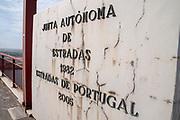 Edgar Cardoso bridge over Mondego River in Figueira da Foz, Portugal