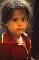 Palestinian refugee girl, 1978