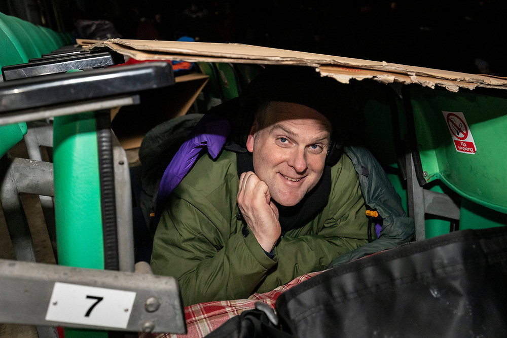 Landaid Sleepout<br /> Evening till 11pm.<br /> The oval 27/2/20<br /> © Jacky Chapman